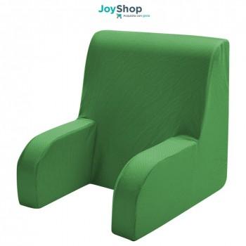 Schienale ortopedico, poltroncina da letto con tessuto sfoderabile e lavabile