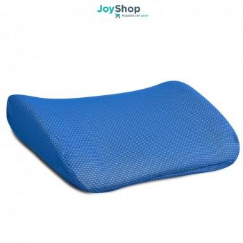 Cuscino lombare per la schiena da posizionare allo schienale della sedia con interno memory