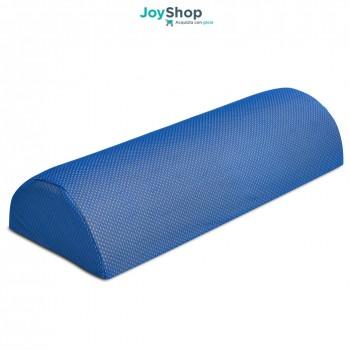 Cuscino a forma di mezzo cilindro adatto alla circolazione sanguinga delle gambe