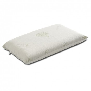 Guanciale Memory O Lattice.Pillow In Natural Latex For Cervical Purpose With Aloe Fabric Nature H10 E H11 Made In Italy
