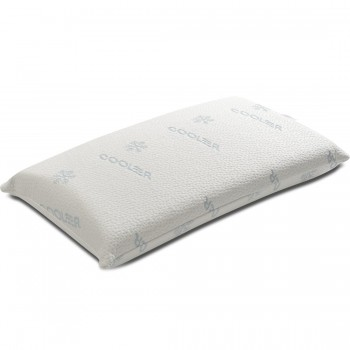 Federa di rivestimento cuscino memory double polar in tessuto cooler anti microbico
