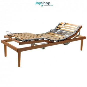 Rete a doghe elettrica In offerte, legno betulla con alza testa e alza piedi