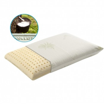 Pillow in latex foam with...