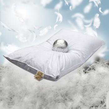 Cuscino in piuma e piumino oca