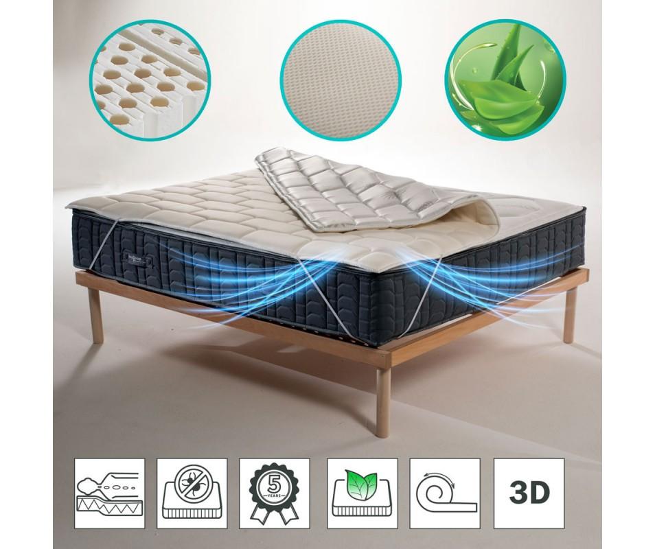 Angolo del materasso con tessuto speciale