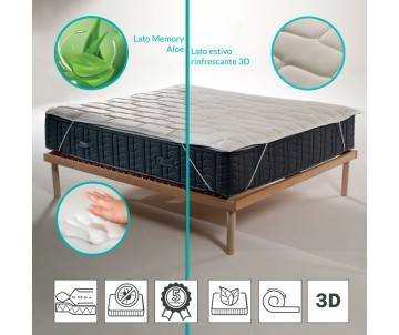 Topper memory foam with...