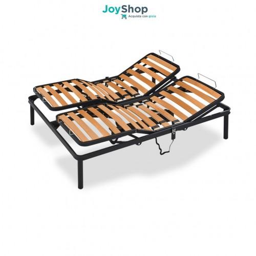 Rete a doghe elettrica con telaio in ferro e doghe in legno di faggio con alzate separate - ORION ES